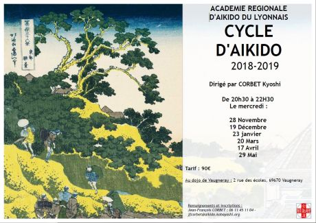Cycle Aikido ARAL 2018-2019